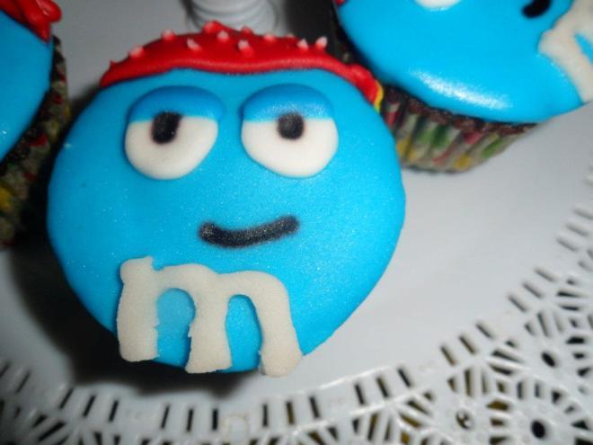 M&M Cupcakes