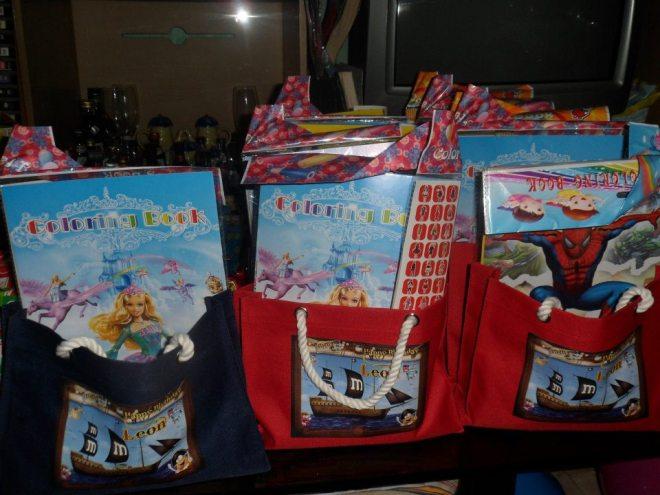 M&M Loot Bags