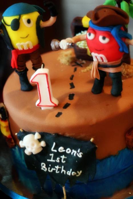 M&M Cake 2