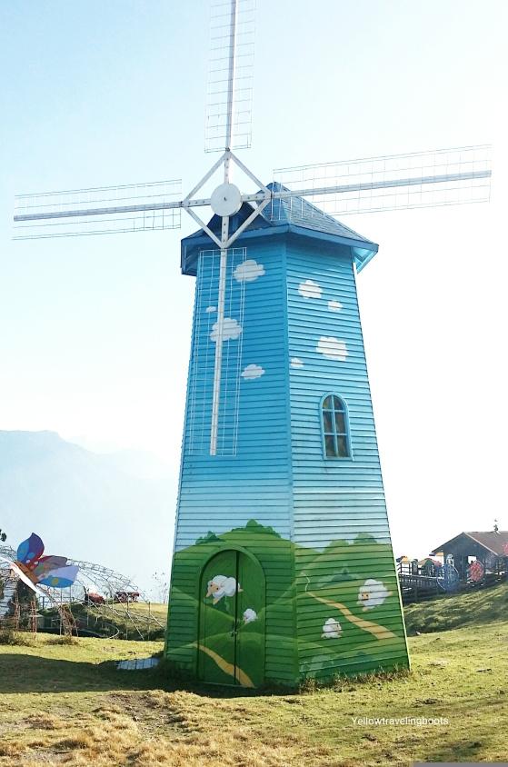 Wind Mill at Cingjing Farm