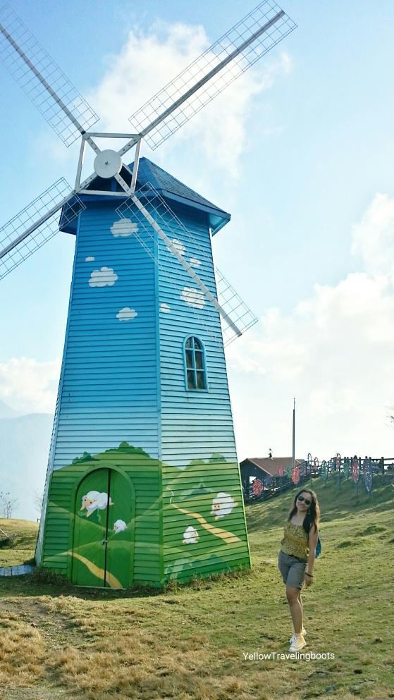 Windmill 2 at Cingjing Farm