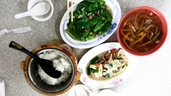 Lunch in Hualien