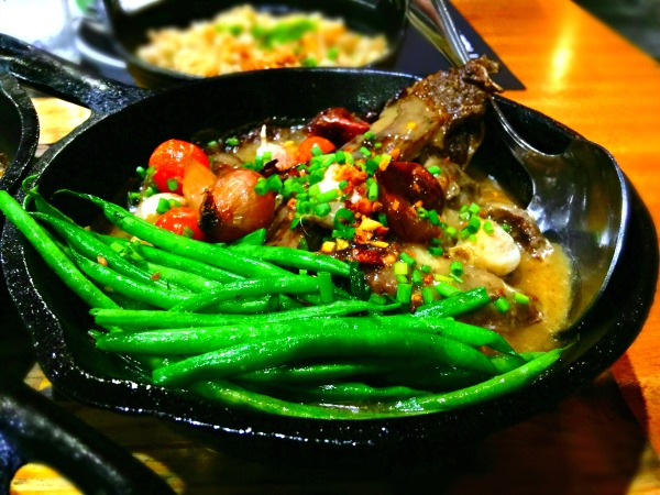 Sizzling Beef Sinigang